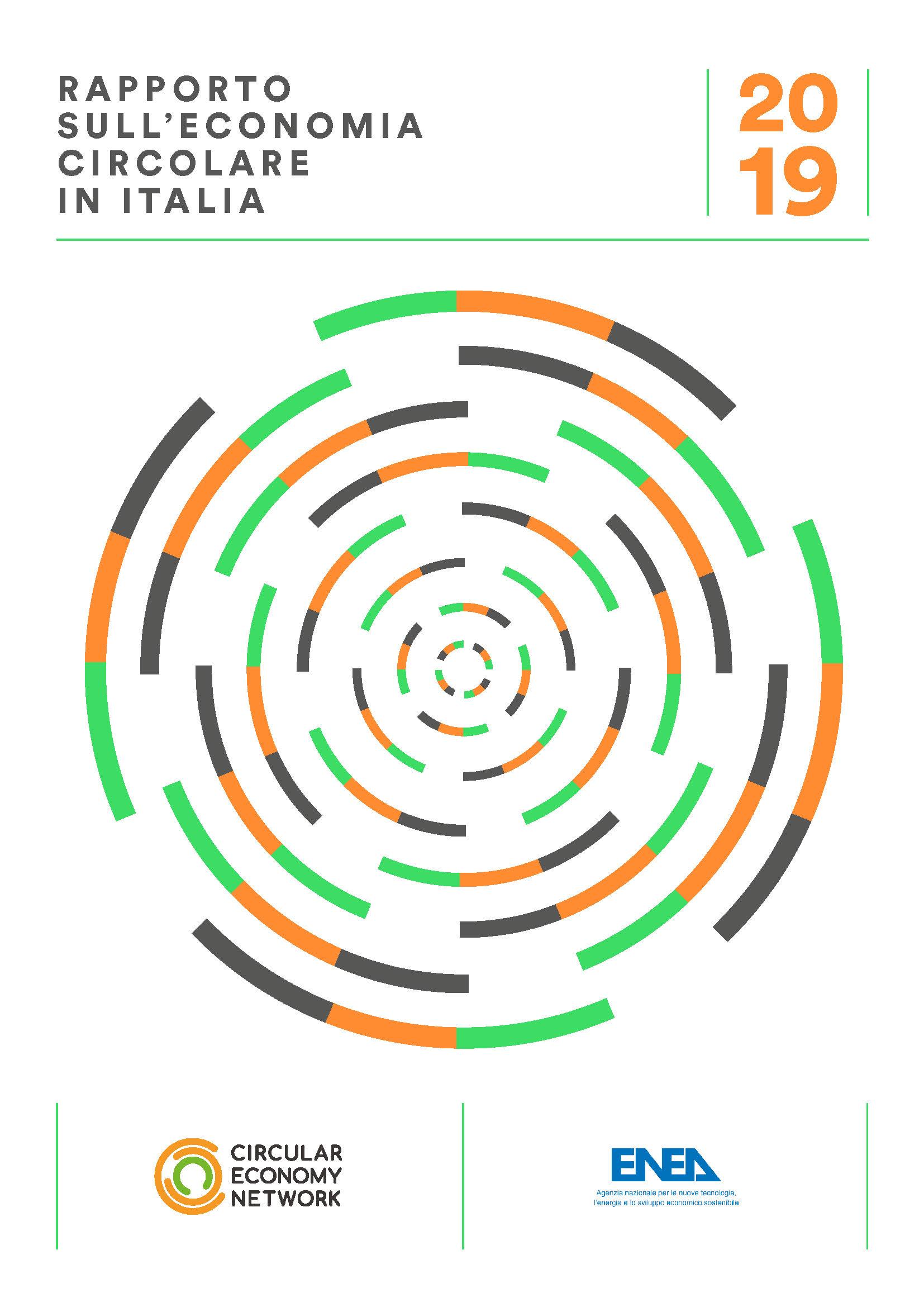 Rapporto sull'economia circolare in Italia - 2019