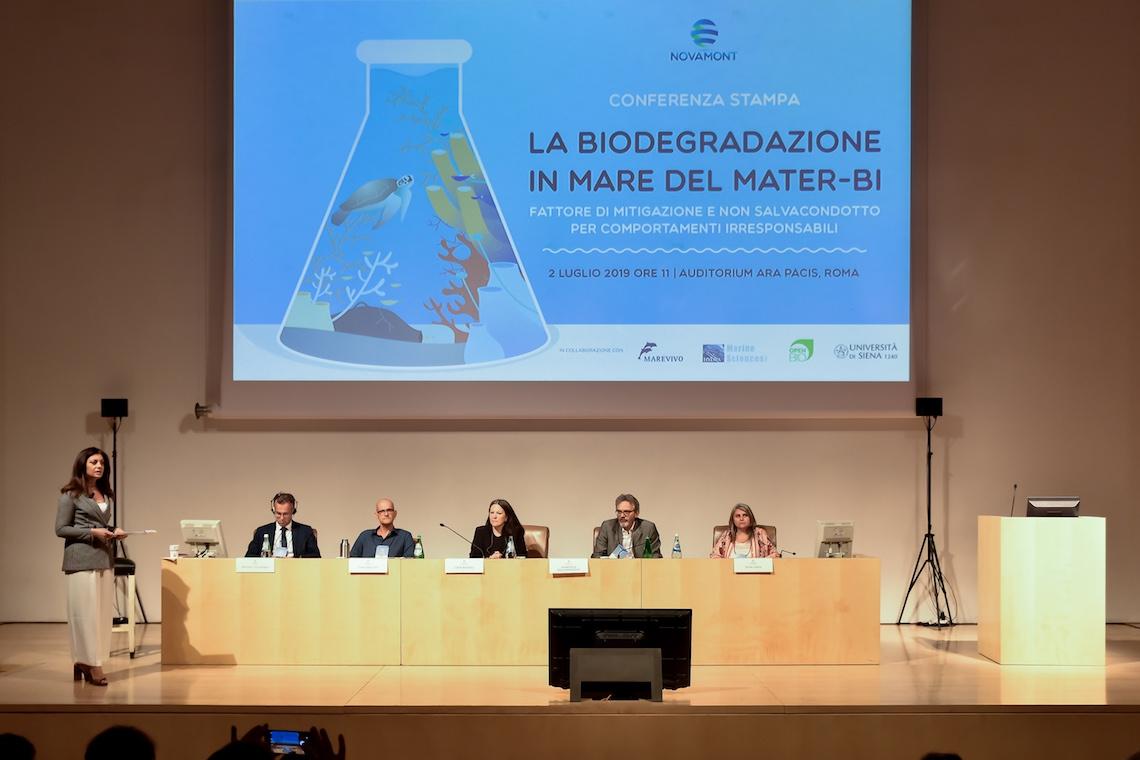 Novamont biodegradazione in mare 2